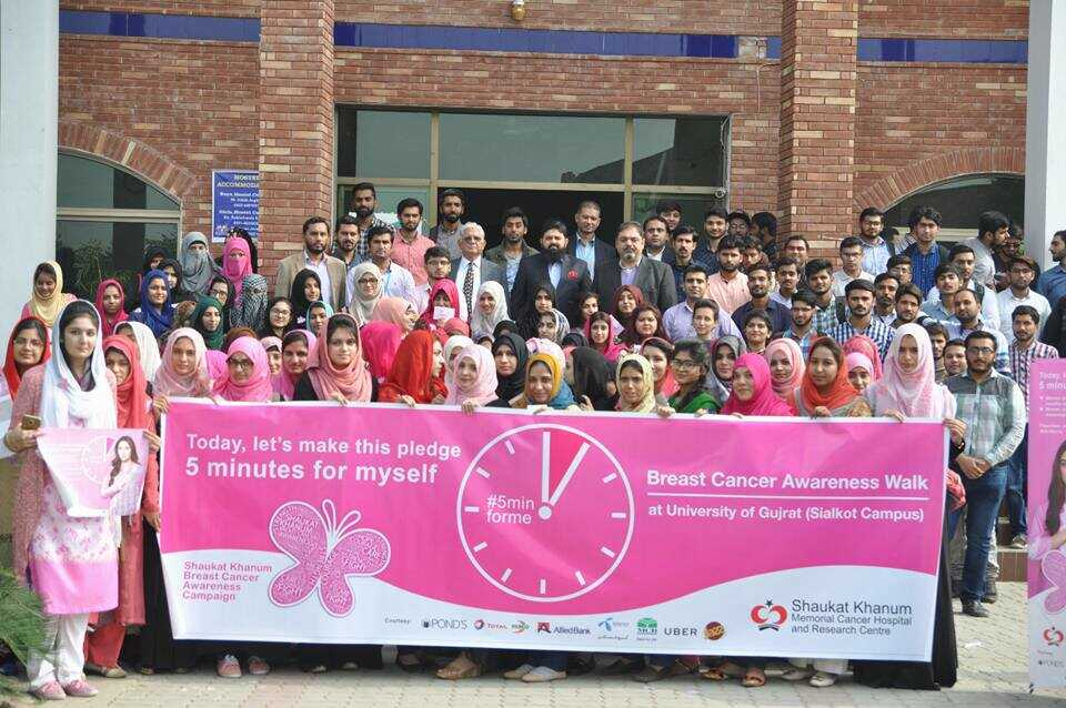 Breast Cancer Awareness Walk at USKT