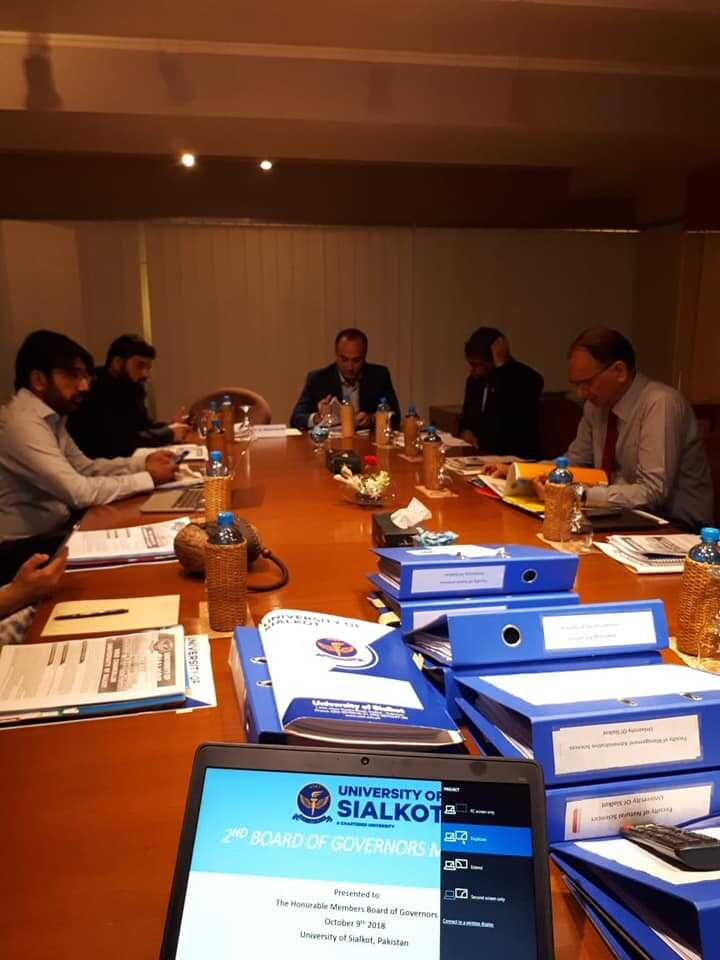 The 2nd Board of Governors meeting. HEC, PHEC and Punjab Higher Education Department kindly nominated their top Academic experts and policy makers for value addition in the system. Alhamdulillah, all agenda items were approved, leading to the beautiful start to University of Sialkot (USKT) in the beautiful city of the Poet of The East.